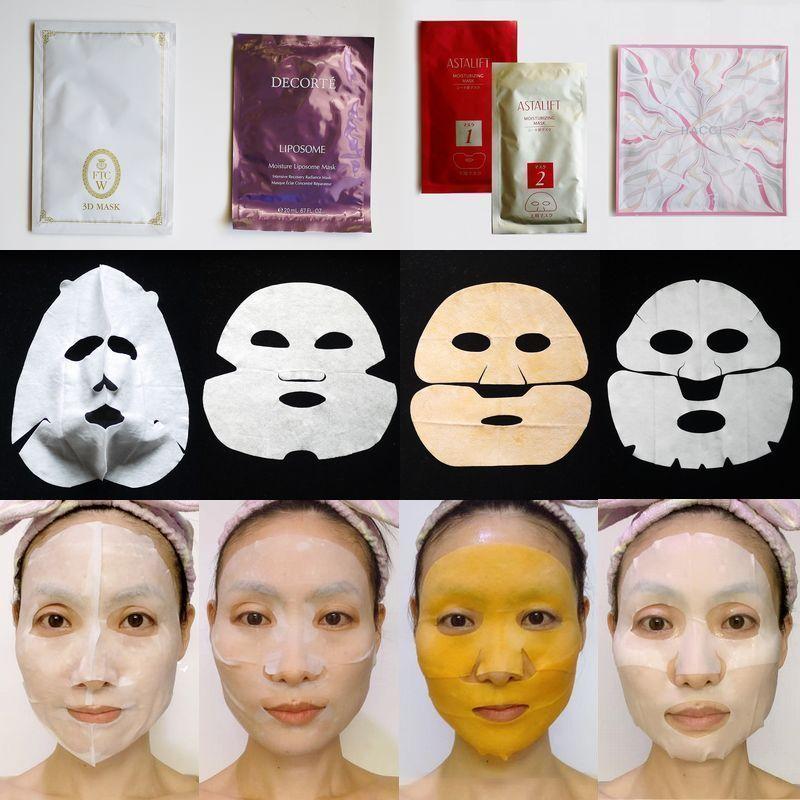 【40代・乾燥肌がお試し】ALL1枚1000円以上。高級シートマスク4種を徹底比較