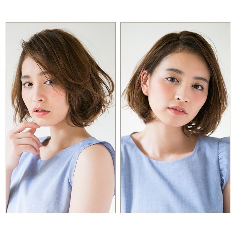 【1つのヘアワックスで2パターン見せ】女っぽさが上がる、ウェット質感の作り方