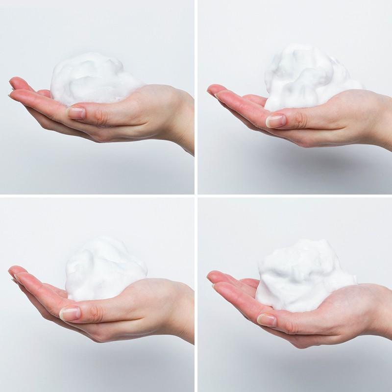 美肌の基本は洗顔にあり!【洗顔料の泡立ち】を比較してみました!