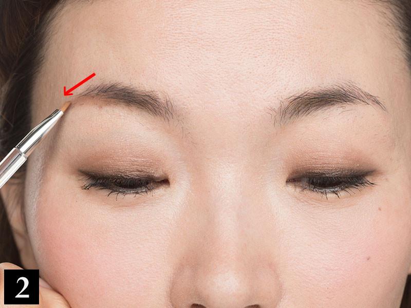 【眉の左右の高さが違う】の解決策は、左右の眉頭・眉山・眉尻を見比べることから!_1_3
