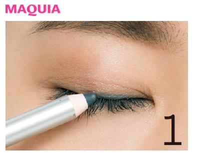 ニュアンスペンシルで目の横幅をググッと拡大!すっきり目さんは影色ラインで小顔_1_1