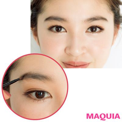 「眉毛を左右対称に描くコツって?」長井かおりさんが教える眉&目元メイクの基本のき_1_2