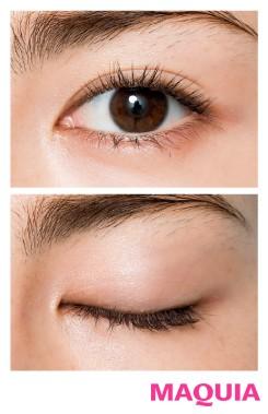 肌や瞳が明るい人に似合う! シアーブラウンEYE×コーラルリップ_1_6