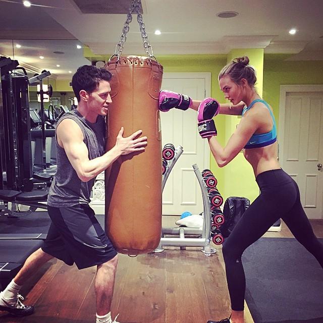 ストレス発散!格闘系「ボクササイズ」にLOVE❤︎ な旬モデルの練習風景をのぞき見!