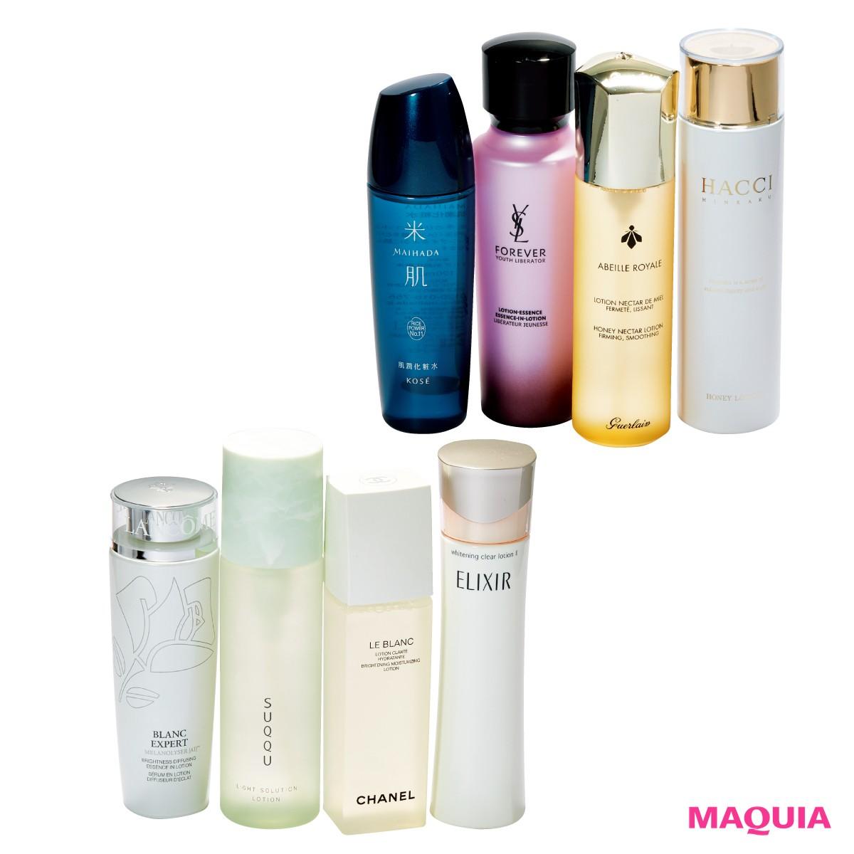 【たるみ/敏感肌/シミ・くすみ】化粧水ソムリエ水井さんが選んだ、本当に効く化粧水