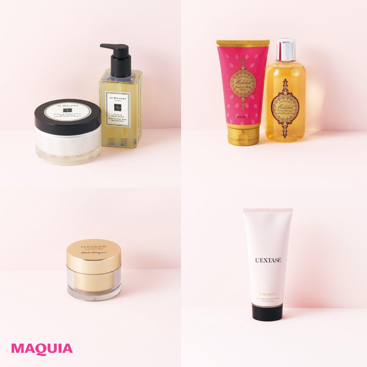 繊細な香りが肌に寄り添うボディケア6選