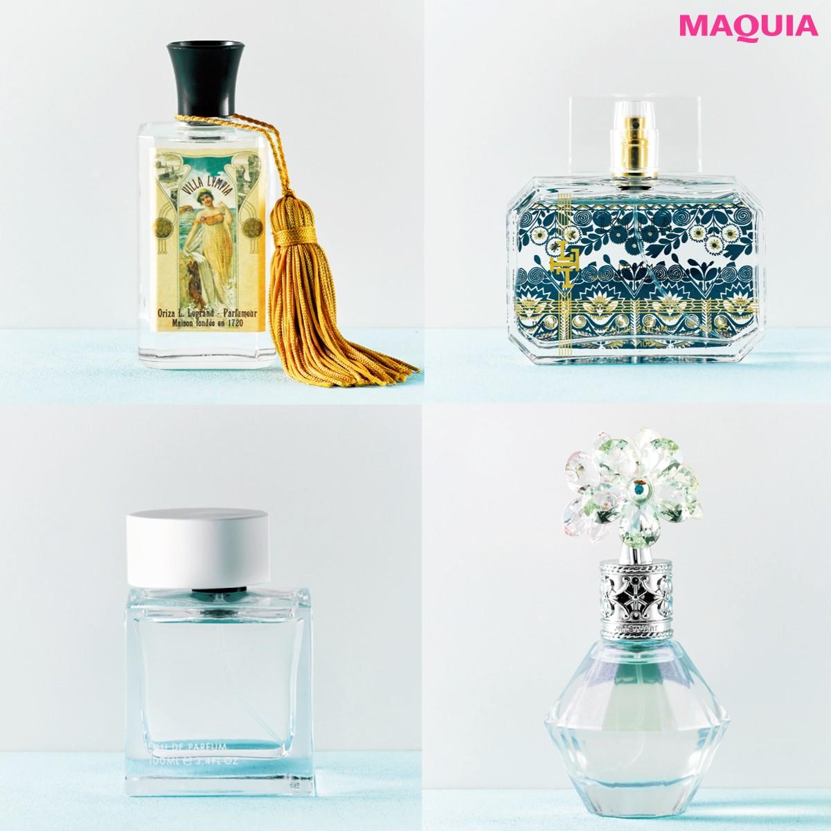 【JILL STUART・LOLLIA etc.】透き通るような香りに包まれて透明感のある女性に!