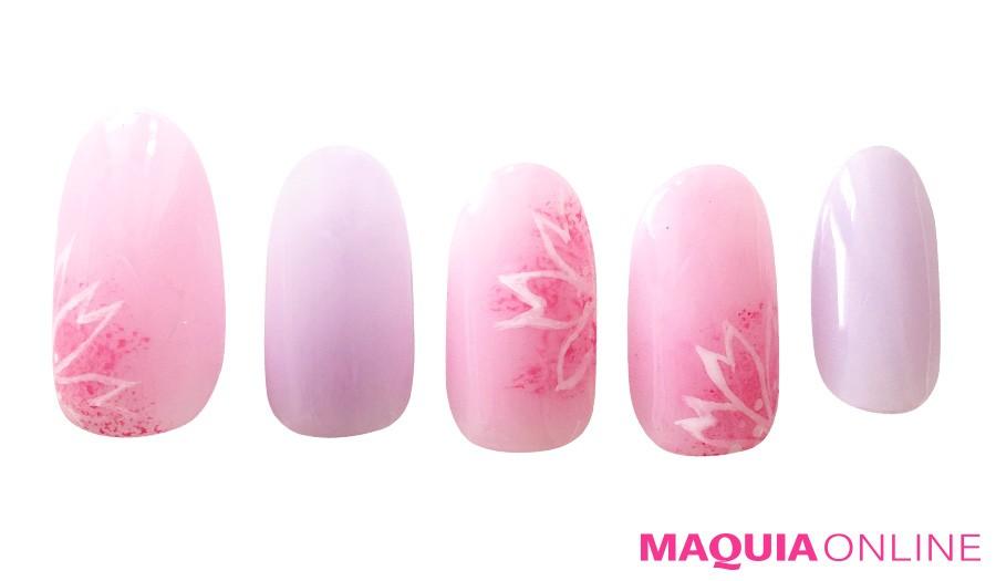 ほんのり、ふんわり、儚くも美しい「桜ネイル」