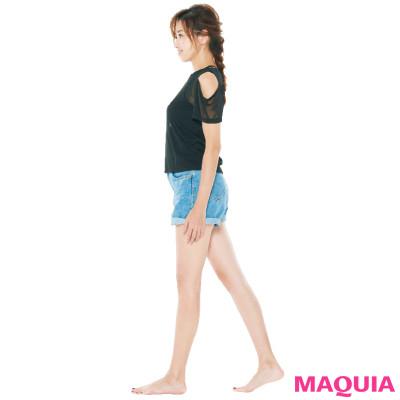 痩せる歩き方&筋力をアップさせる姿勢でキレイになれる! 仁香さんが実践する痩せグセ_1_2