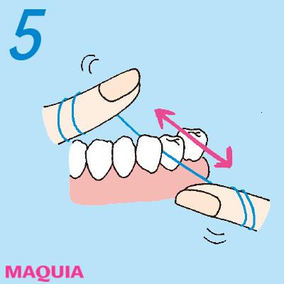 「口もと老け度」をチェック診断! 正しい歯磨き方法をおさらい_1_5