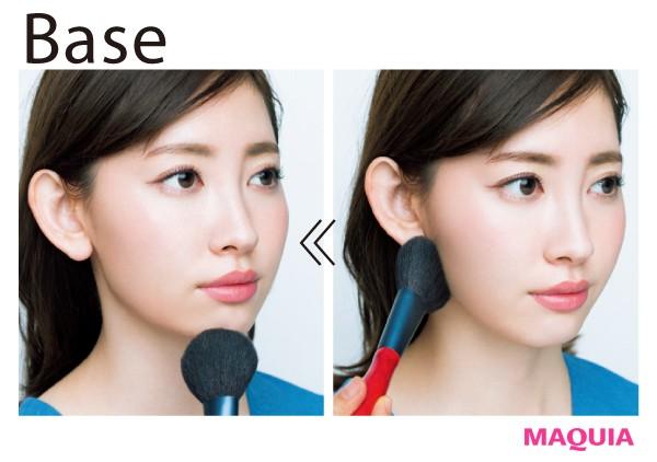 可愛い印象顔さんの小顔メイク法を伝授!メリハリ輪郭とシャープさで大人な小顔に_1_3