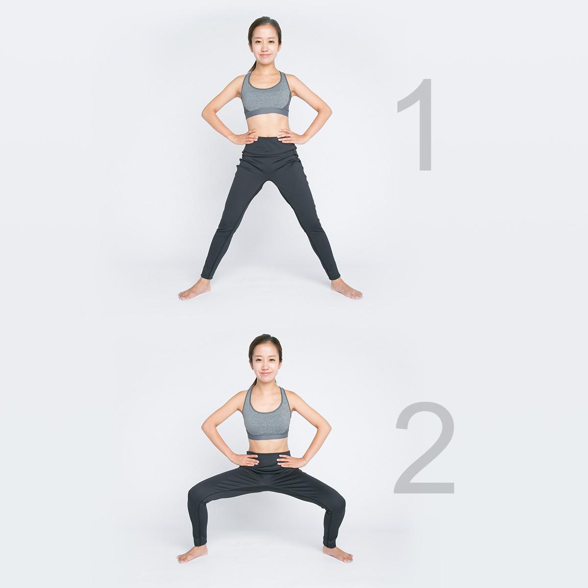 ポッコリお腹やむくみを改善!内もも、ヒップ、下腹部の筋力UP【美腸エクササイズLesson3】_1_1