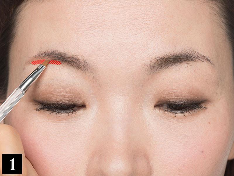 【眉の左右の高さが違う】の解決策は、左右の眉頭・眉山・眉尻を見比べることから!_1_2