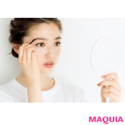 「眉毛を左右対称に描くコツって?」長井かおりさんが教える眉&目元メイクの基本のき_1_7
