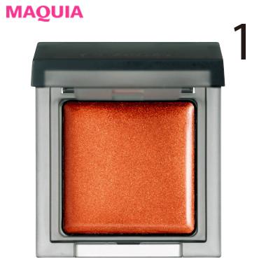 女らしいオレンジメイクを成功させるコツは、色選びとツヤ感!_1_1