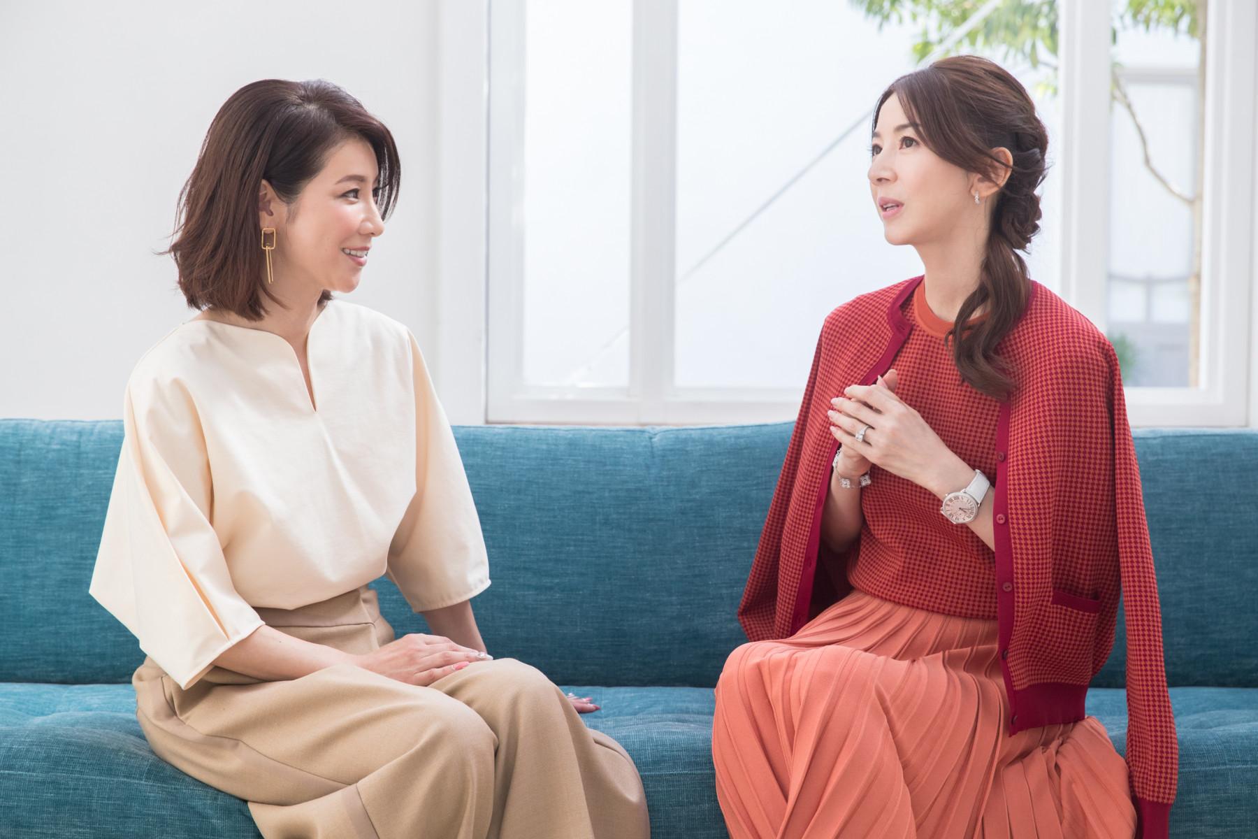 君島十和子水谷雅子対談