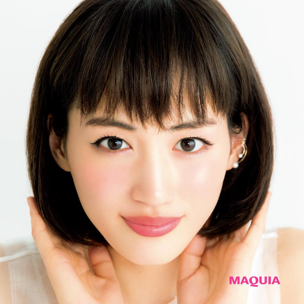 綾瀬はるかさんがボブスタイルで登場! マキア最新号の表紙に注目