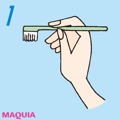 「口もと老け度」をチェック診断! 正しい歯磨き方法をおさらい_1_1