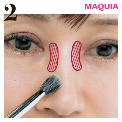 角鼻の存在感が、見違えるほど薄く! 基本の忘れ鼻メイクをレクチャー_1_2