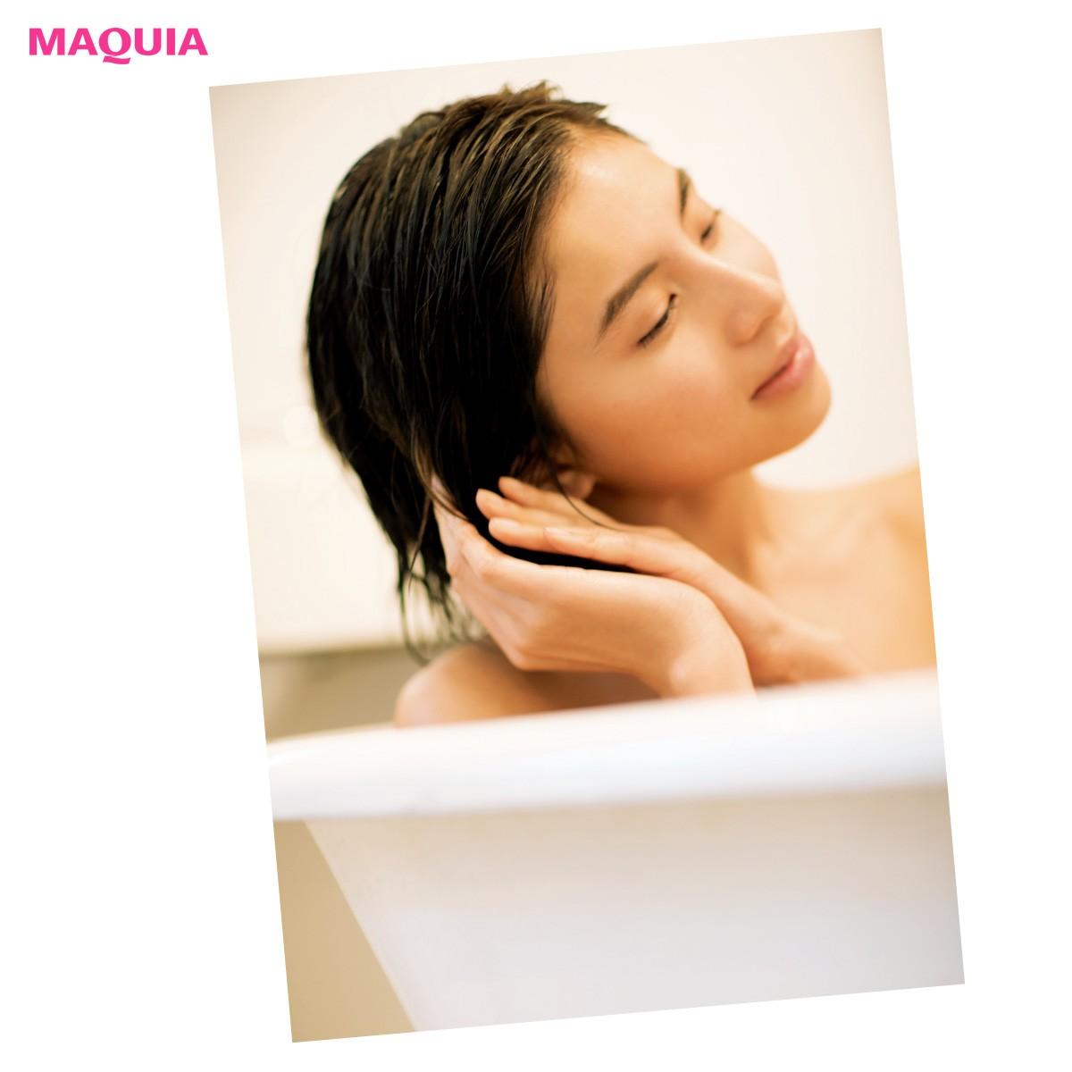 理想の美髪はバスルームでつくる!お風呂でうるツヤ髪になるHow to