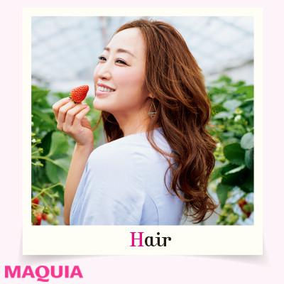 神崎恵流「いちご狩り」デートを楽しむ日のヘアメイク&ファッション_1_3