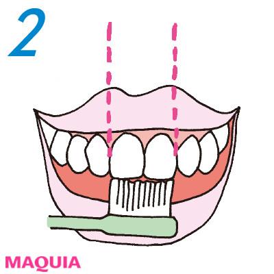「口もと老け度」をチェック診断! 正しい歯磨き方法をおさらい_1_2