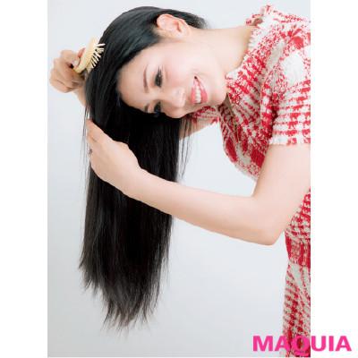 白髪はほとんどなし! アン ミカ流・美髪キープの習慣&お手入れ法を大公開_1_2