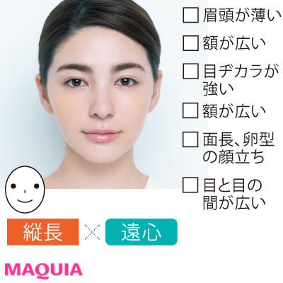 """あなたの顔タイプを診断! 小田切ヒロさんの""""小顔メイク""""は、光と影を操るのが必勝セオリー_1_4"""