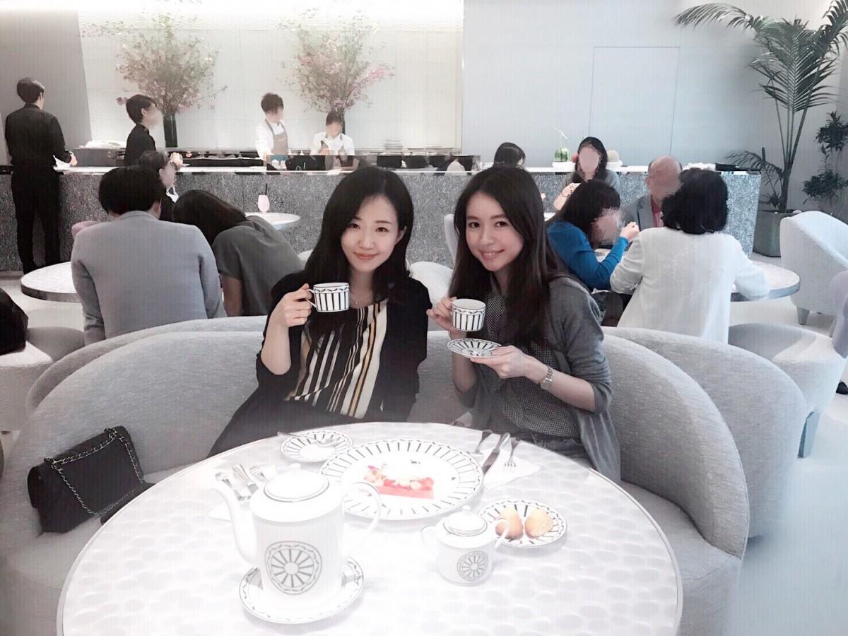 話題のスポット!日本初上陸ピエールエルメ監修cafe Dior