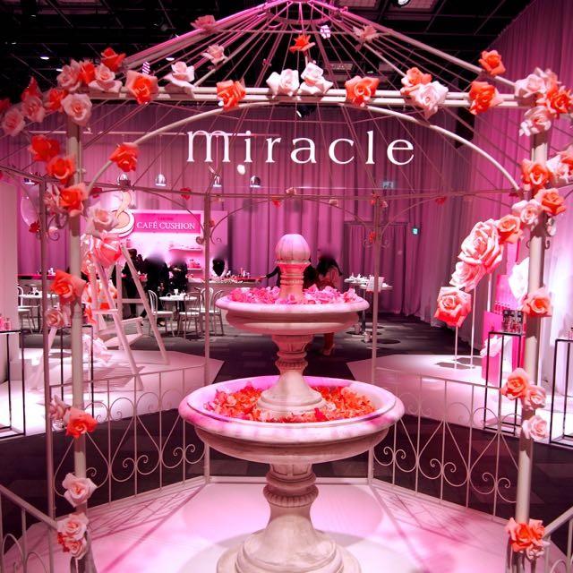 「メゾン ランコム 2016」PINKのパリ体験!ピンクに彩られたパリをイメージした会場でランコムの世界を満喫。会場にはブランコ、バルーン、カフェ、バーが出現、お見逃しなく!