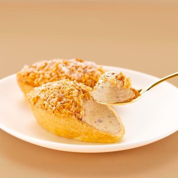 東京駅の人気おみやげ食べてみた。東京カンパネラ「マロンタルト」刻んだ栗と濃厚マロンクリーム秋の味。季節限定で11月頃まで販売中。