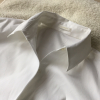 美容家電裏技やってみて!白シャツの襟が汚れにくくなりますよ。