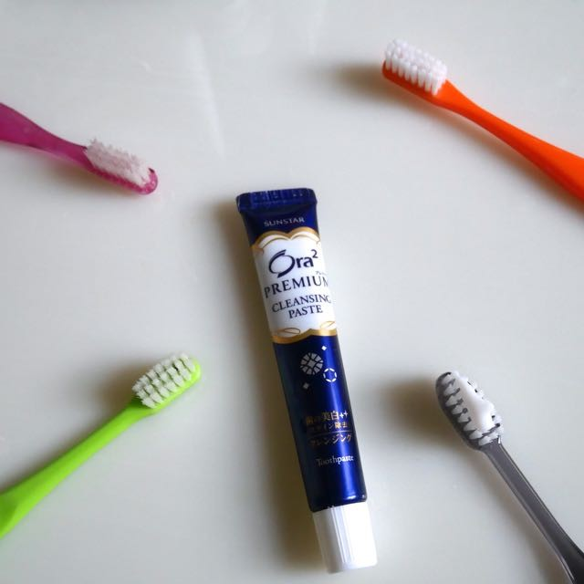 週一集中美白だから続けられる自信あり! 肌の美白だけでなく歯も集中美白。オーラツーハミガキ史上、最高濃度のステイン除去成分(清掃剤)配合「オーラツー プレミアム クレンジングペースト」