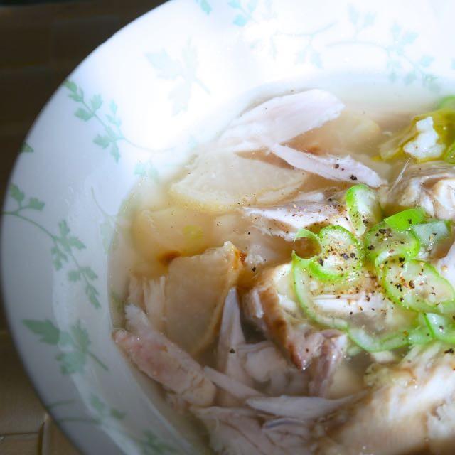超簡単!炊飯器で出来る特製コラーゲンレシピ「鶏手羽の参鶏湯風スープ」材料入れてスイッチ押すだけ調理も片付けも楽チン絶対やってねビューティレシピ@マキア ビューティシェアまとめ③