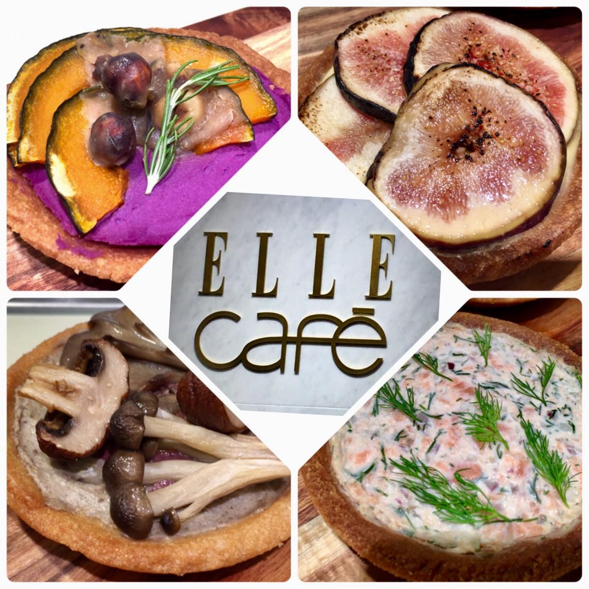 食から美しくがコンセプト。ELLE cafe渋谷ヒカリエ ShinQs店9/16 OPEN ショーケースの美しさにうっとり。グルテンフリー、低糖質アイテムもあります。