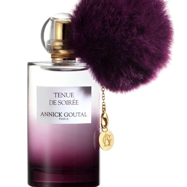 香水瓶にフワフワポンポン、アニック グタールの新作の香り「トゥニュ ドゥ ソワレ オードパルファム」パーティが始まる前、パリでの素敵な夜を予感させる特別な雰囲気からインスパイアされた香り。2017.1/25新発売