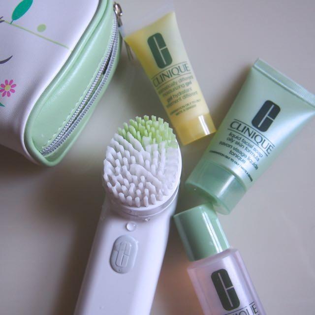 メリハリ消費の時代、洗顔もメリハリ。クリニークの音波洗顔ブラシの良い所、私が使うコツ。