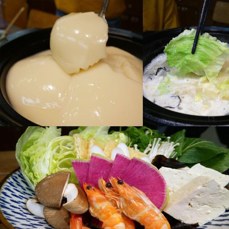 「美人鍋下さい!」天然コラーゲン100%の超濃厚鶏白湯スープの「本気の水炊き」塚田農場で忘年会の巻。まずびっくり!ぷっるんぷっるんのお鍋。