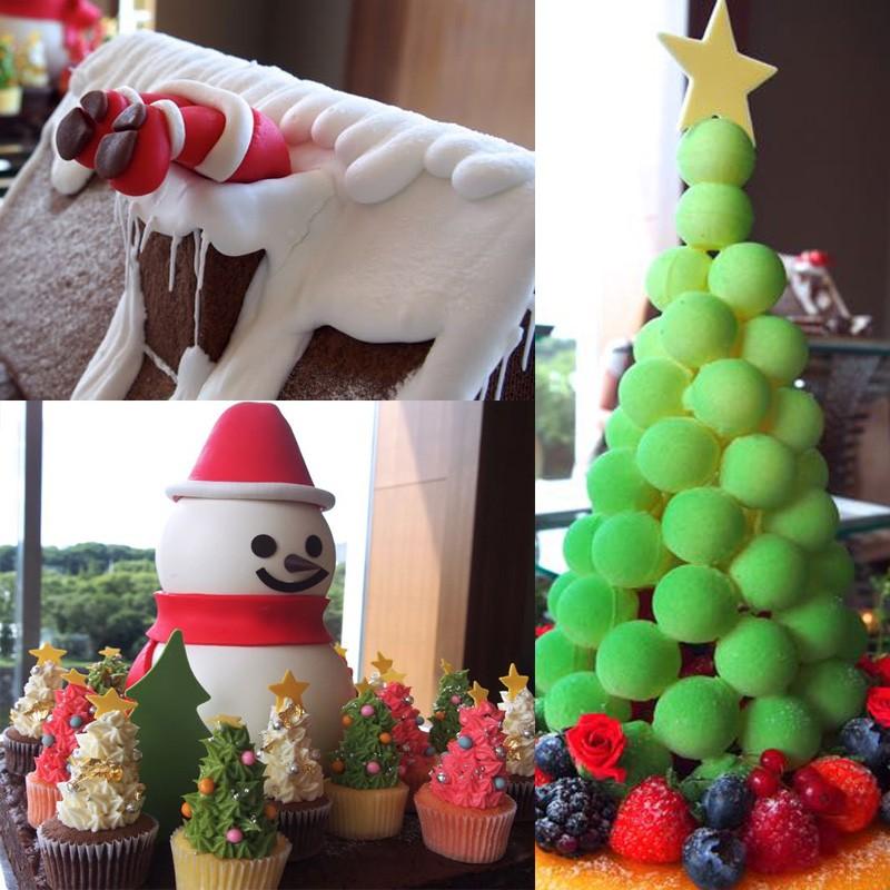 予約開始!パレスホテル東京の美しく楽しいクリスマスケーキは見逃せない◆ここにしかないシュトーレンにも注目。加賀ほうじ茶のシュトーレン・和三盆糖、渋皮栗、数種類の豆を入れ、たっぷりのきな粉と柚子の香りで 仕上げたボーネン・シュトーレン  断面を見てほしい。
