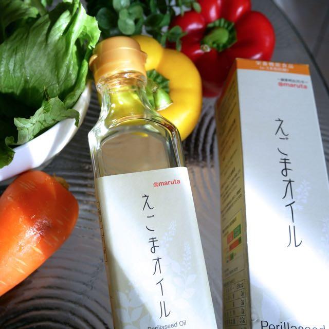 美肌と健康維持に絶対必要。体内で作れないオメガ3はこれで摂る!maruta「えごまオイル」小さじ1杯弱で1日分のオメガ3を摂取。