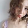 ヘアチェンジ♪【プラチナベージュ】きつく見られない柔らかカラー♡