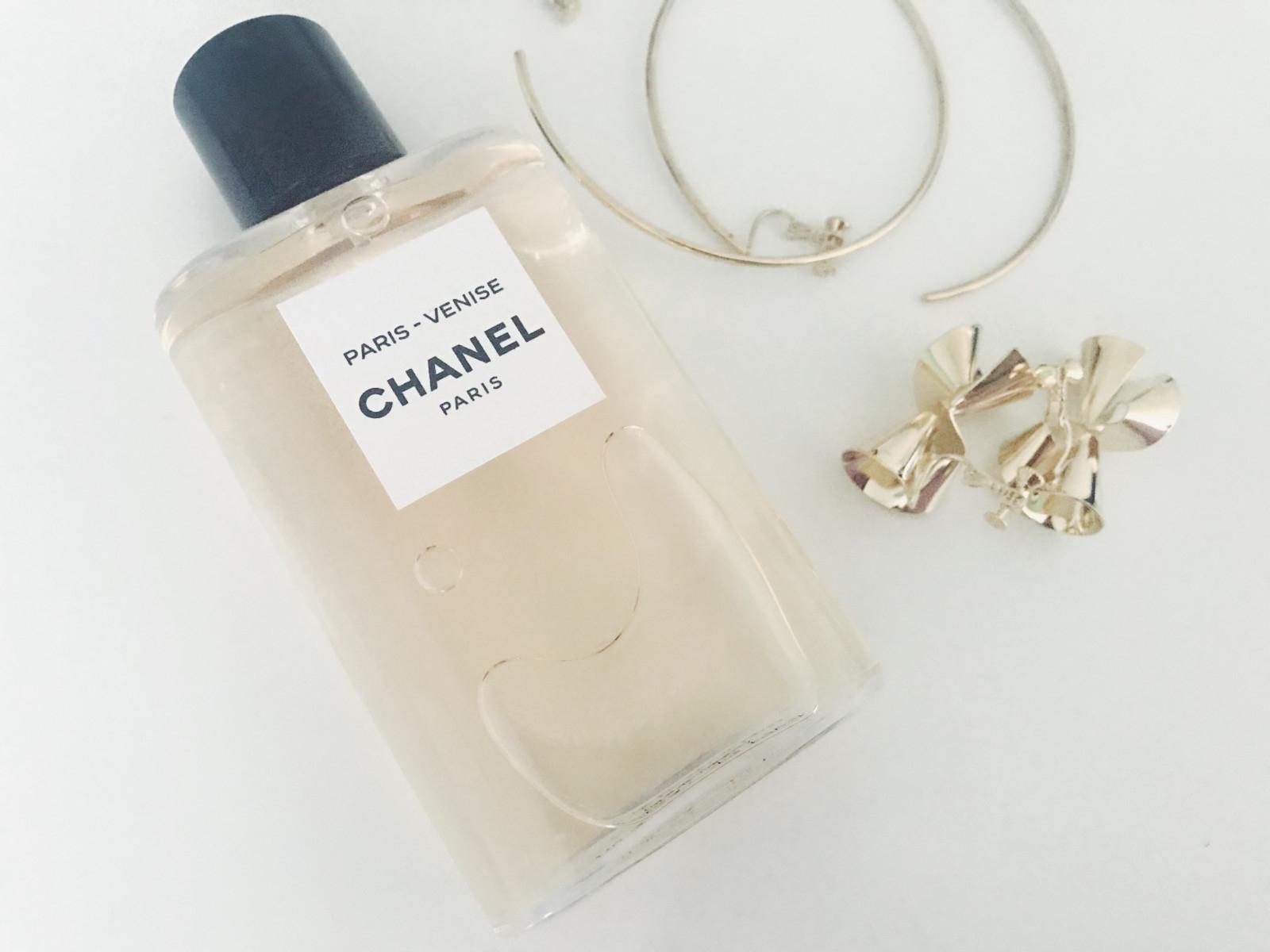 2018年夏新作香水 シャネル レ ゾー ドゥ シャネル パリ ヴェニス で