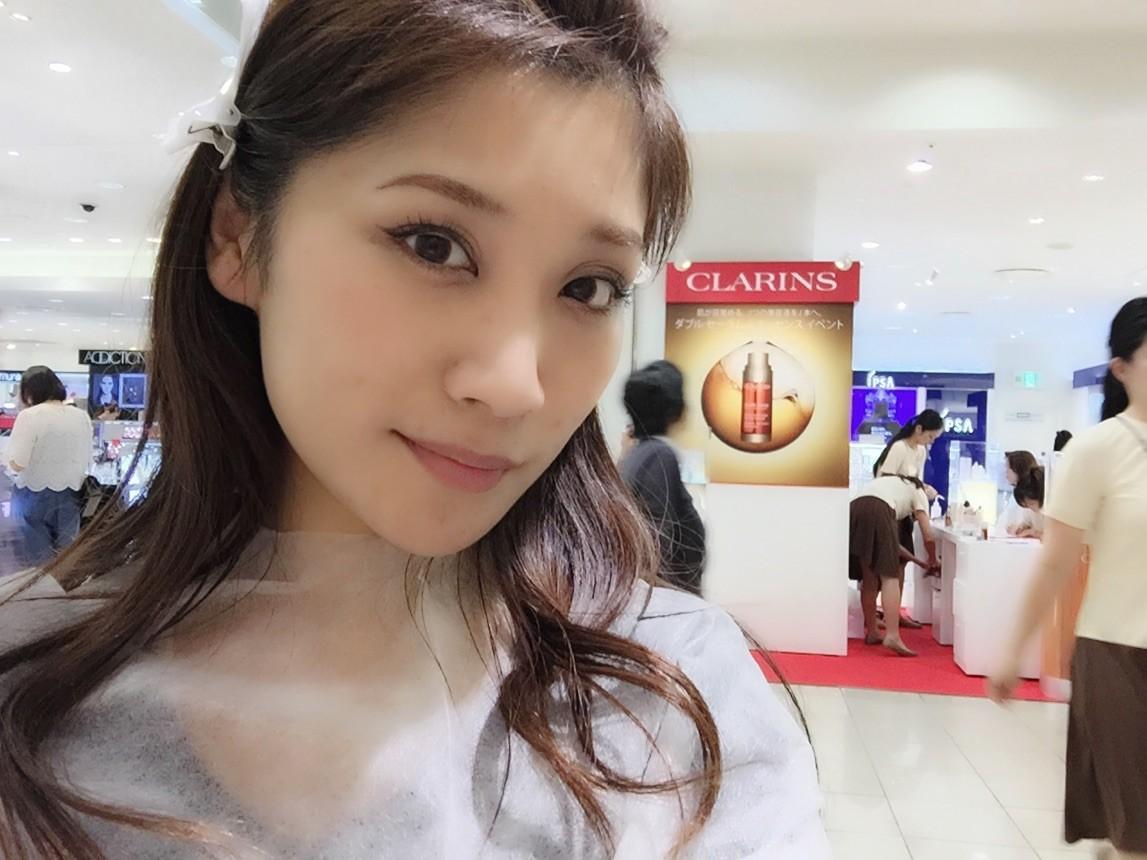 名古屋タカシマヤ「クラランス ダブル セーラムイベント」に行ってきました!