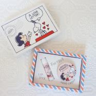 スヌーピーの限定アイテム♡コスメキッチンで購入できるハンド&リップセット♡