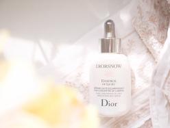 【要チェック新製品】リピ買い決定の新薬用美容液 Dior スノーエッセンスオブライト