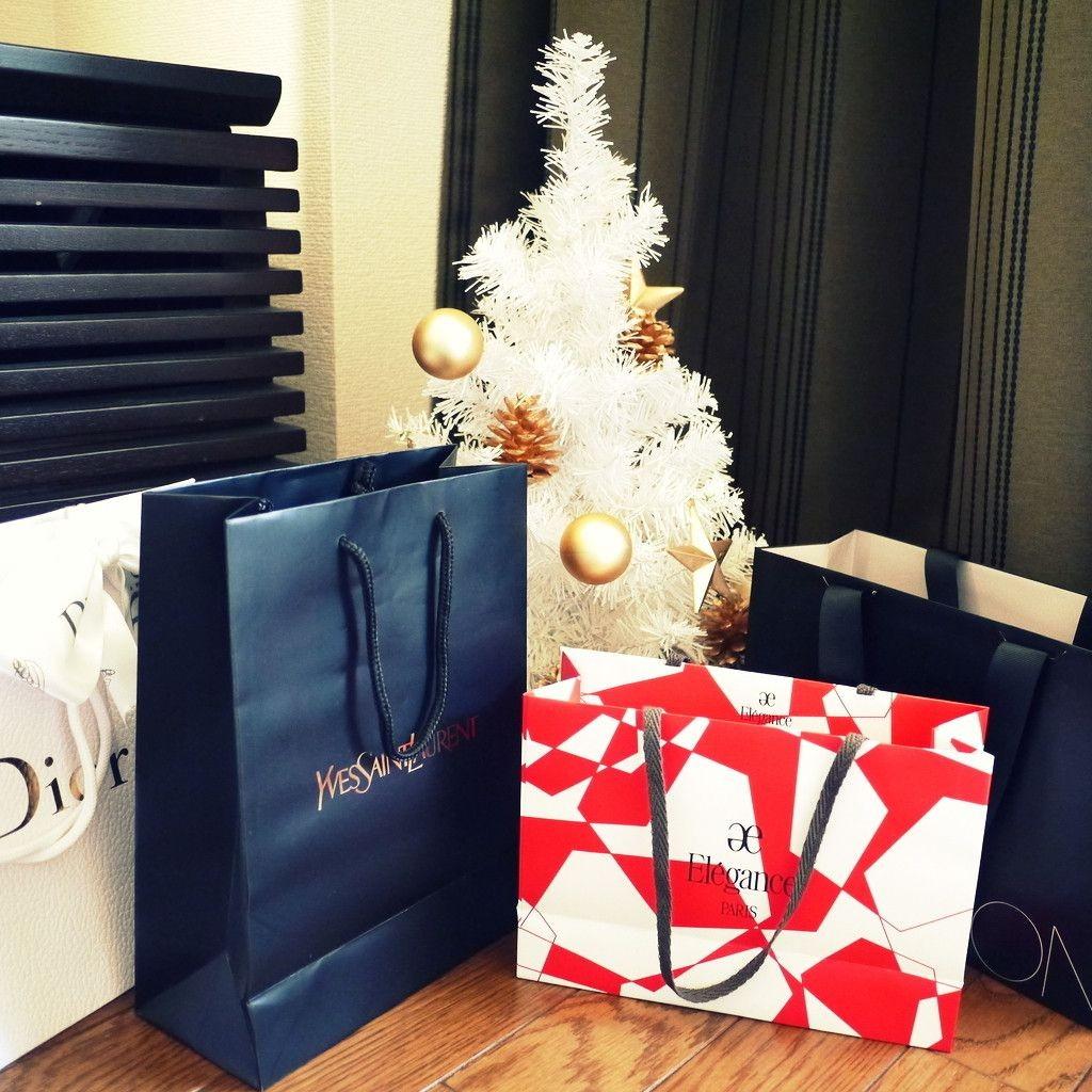「クリスマス限定」につられ購入したコスメたち。
