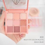 【韓国コスメ】3CEの人気アイシャドウパレット!ピンクが可愛いBEACH MUSEでメイク♩