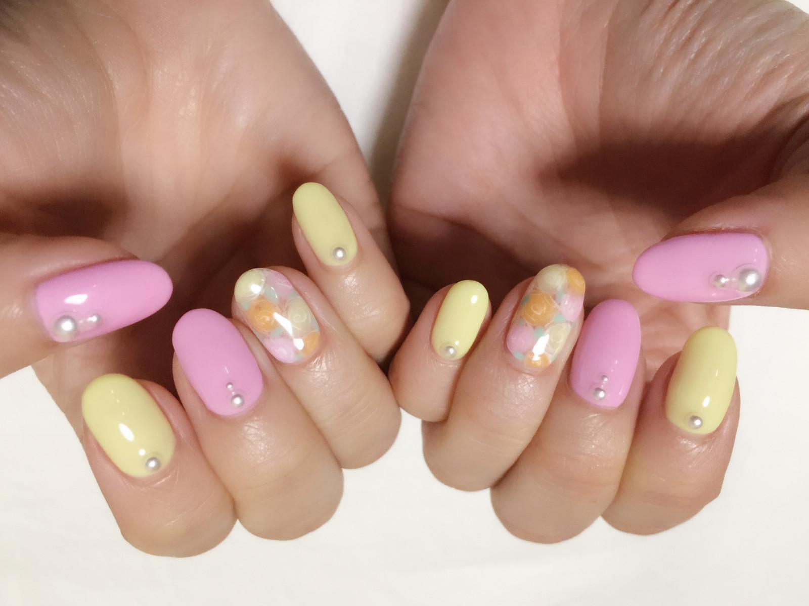 Spring nail♡