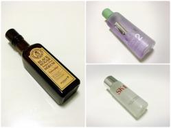 拭き取り化粧水で不要な角質オフ!CLINIQUE、SK-Ⅱ、SKINFOODレビュー