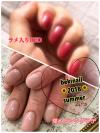 【2パターン】夏っぽさネイルと涼しげネイルで夏の手元も綺麗に【ジェルネイル】